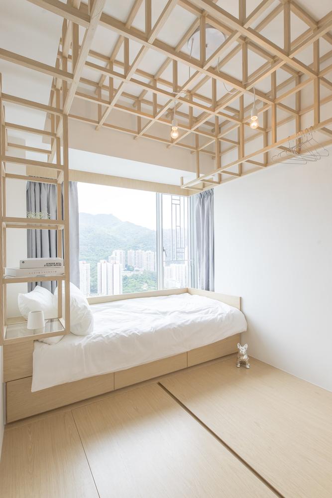 自然简约风卧室装修设计图