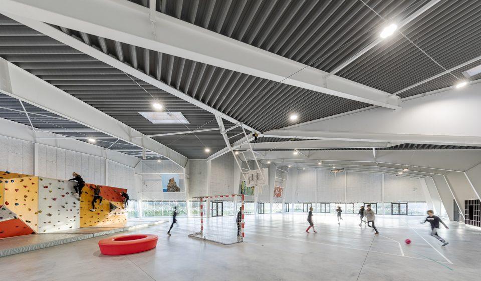 室内运动馆装修设计效果图
