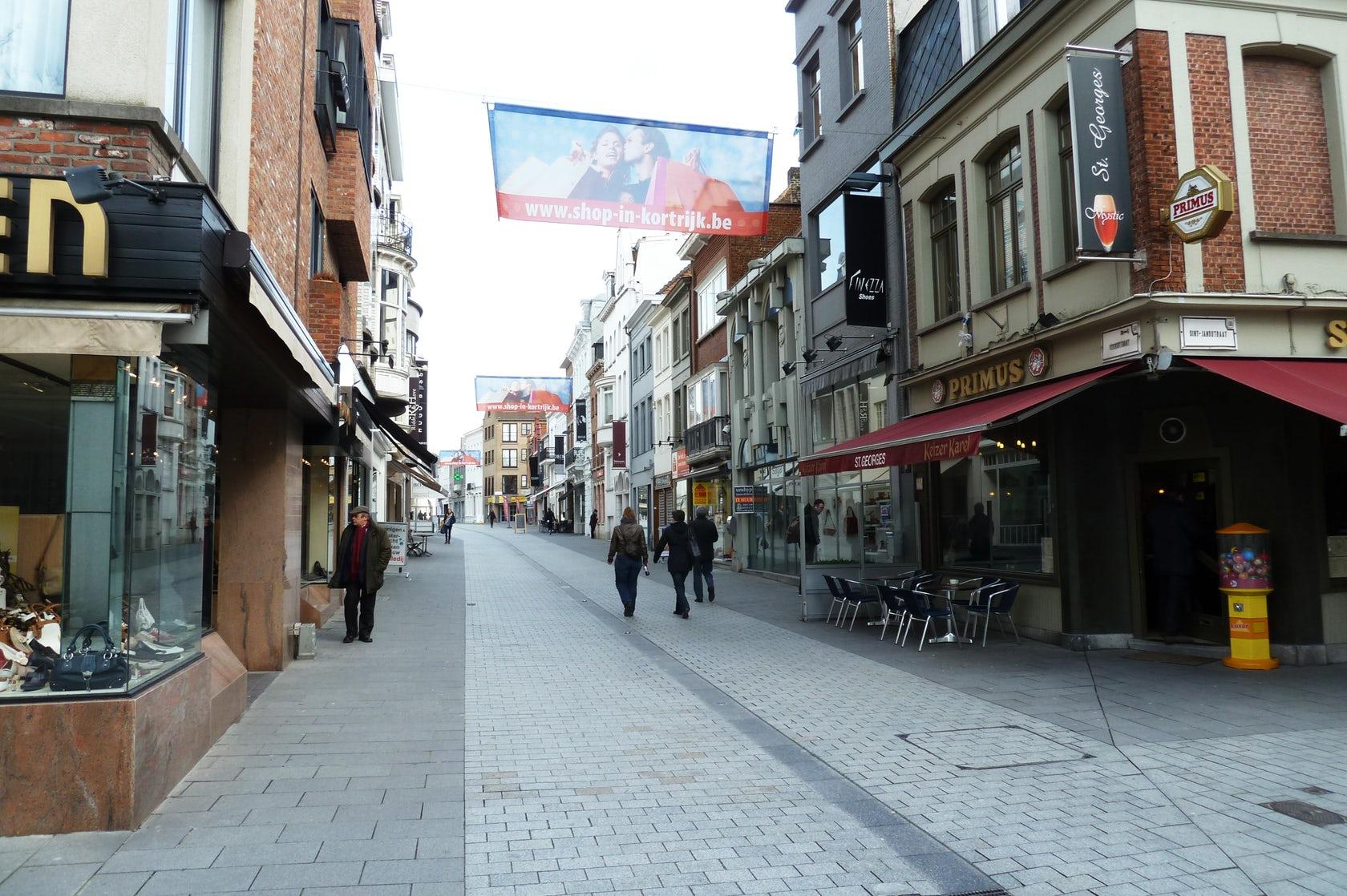 国外商业街设计实景图