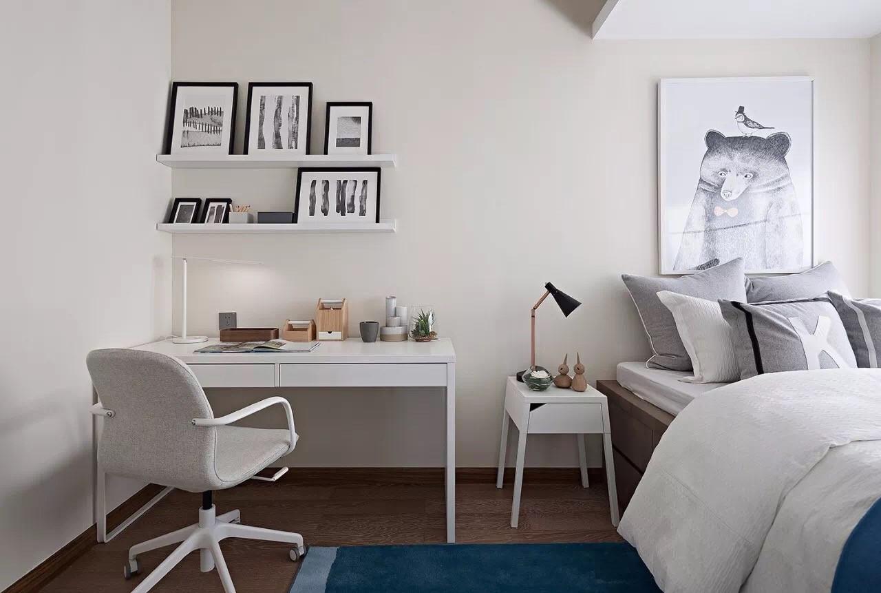105㎡现代风格卧室装修设计图