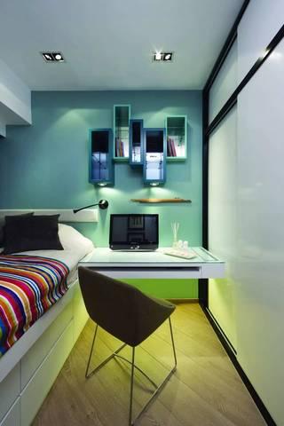 90㎡现代风格卧室装修搭配图