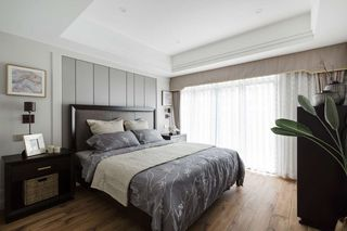 清雅美式风卧室装修效果图