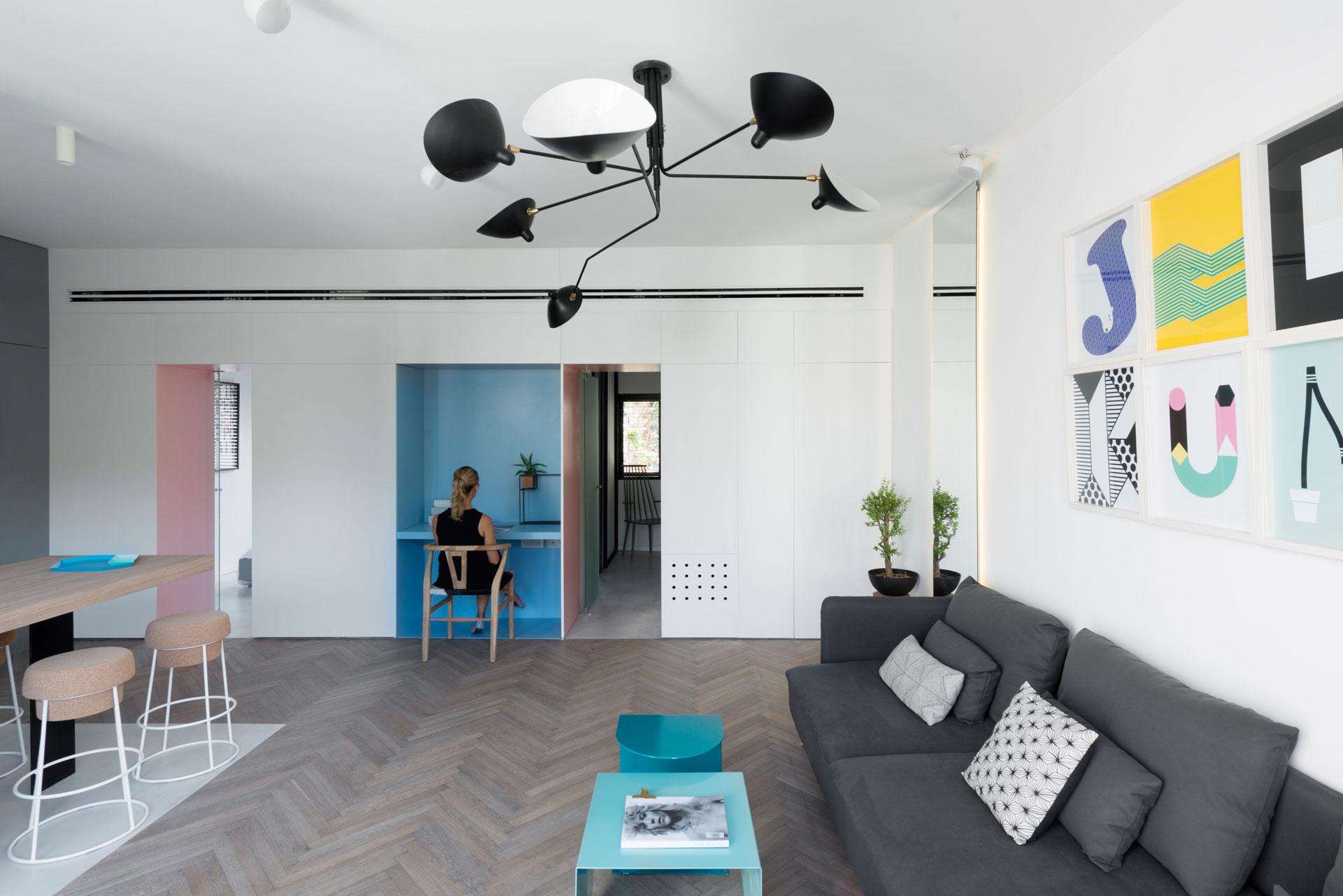 简约风公寓客厅装修效果图