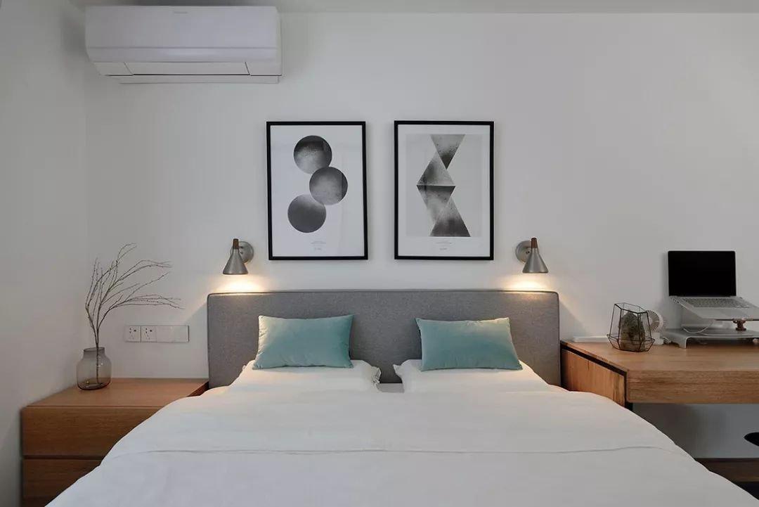 小户型简约北欧风卧室装修设计图