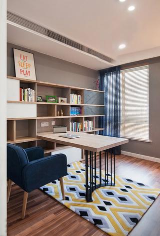 宜家风格两居室书房装修效果图