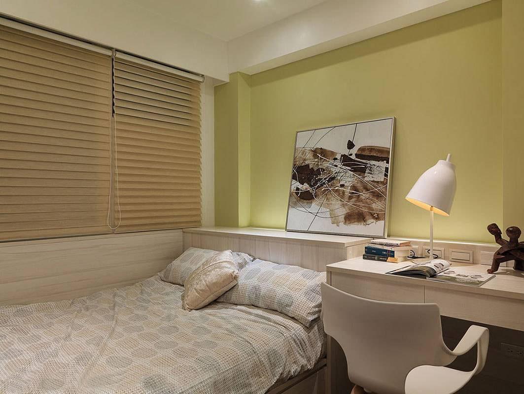 100平现代简约卧室装修设计图