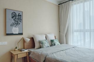 108㎡日式风格卧室装修搭配图