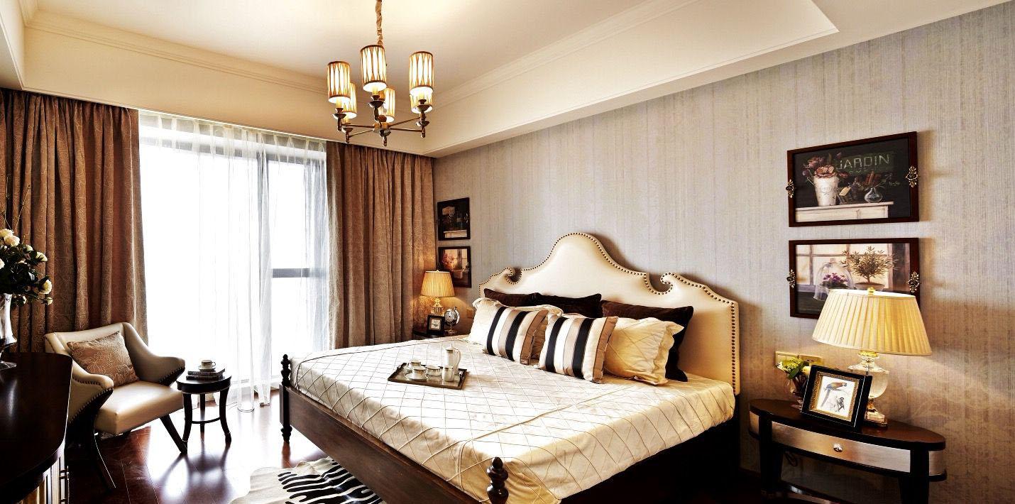 大户型欧式风格卧室装修效果图