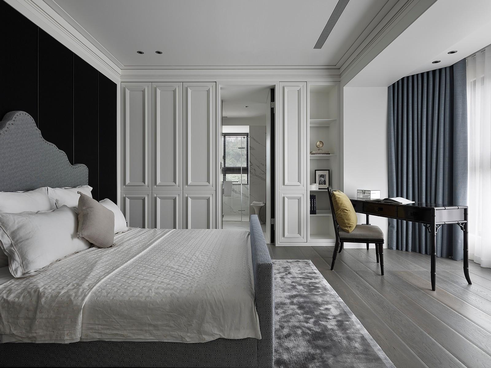 145㎡现代简约卧室装修效果图