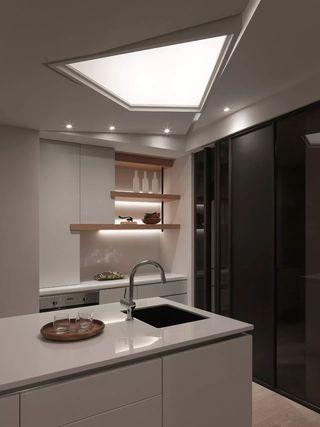 150平台式风格厨房装修效果图