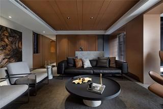 160㎡现代风格客厅装修效果图