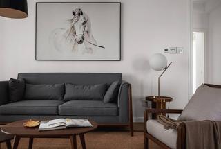 朴素简约风沙发背景墙装修效果图