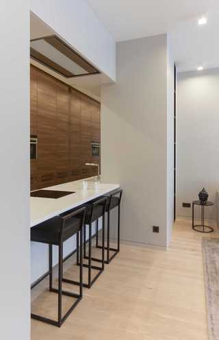 现代风公寓吧台装修效果图