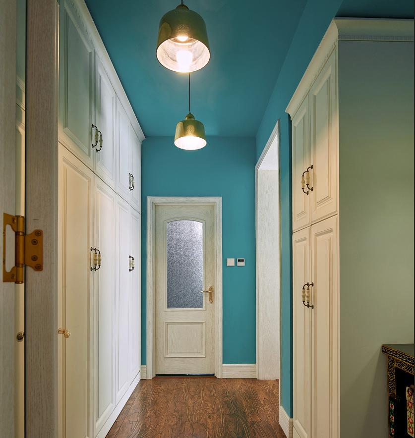 美式混搭风格走廊装修效果图