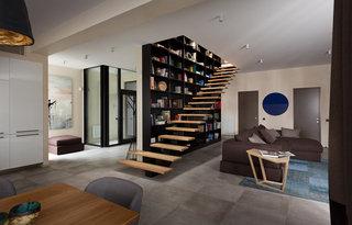 现代简约别墅楼梯装修效果图