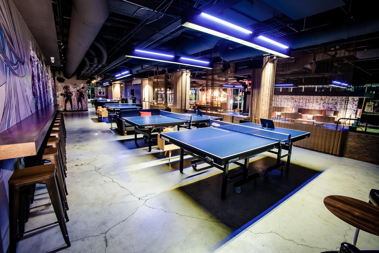 复古风乒乓球馆每日首存送20