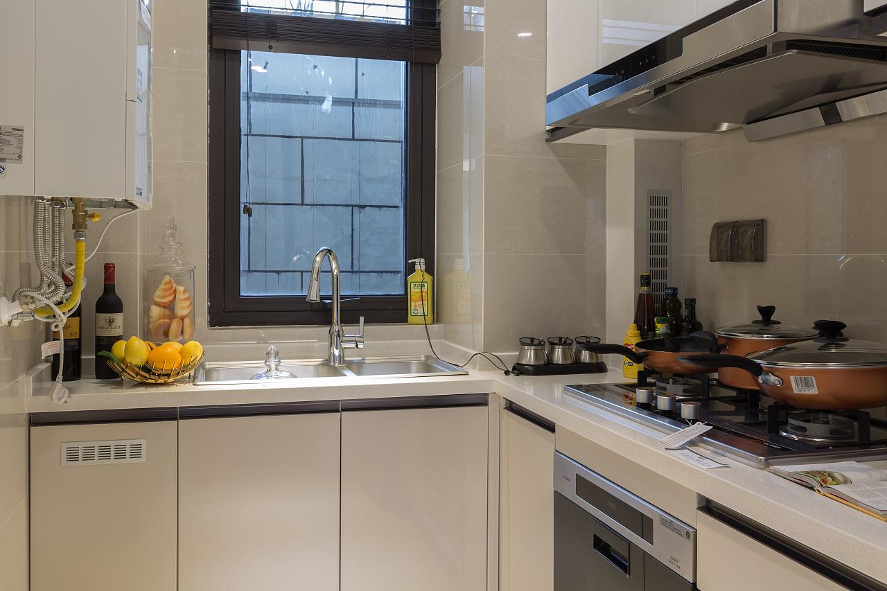 时尚混搭风格厨房装修效果图