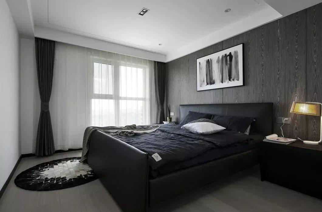 185㎡现代简约卧室装修效果图