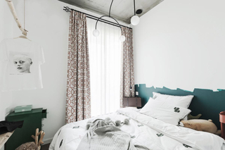 60㎡北欧风格卧室背景墙装修效果图
