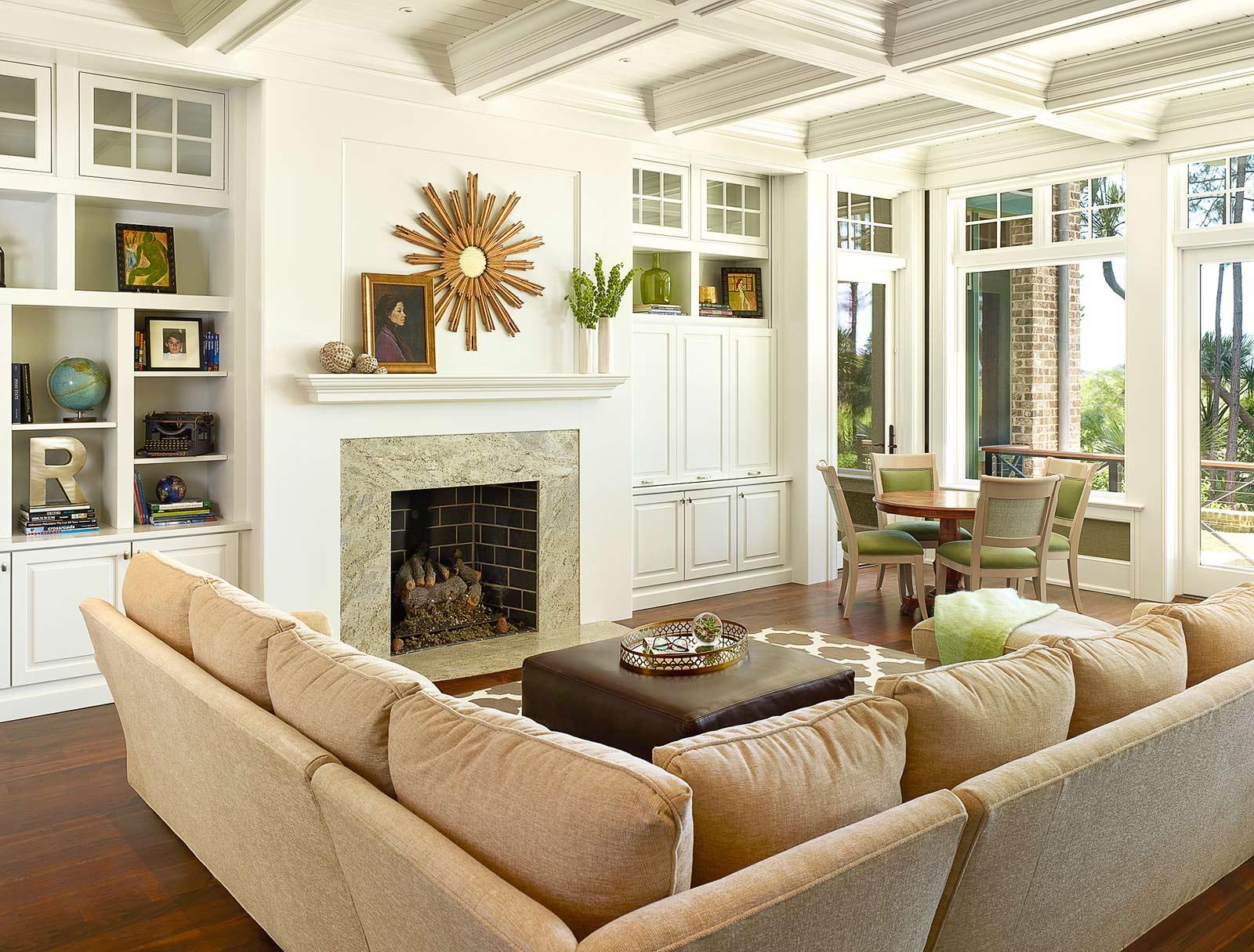 美式风格别墅客厅装修效果图