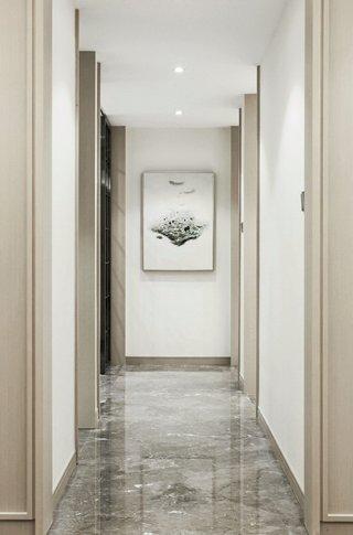 116㎡现代风格走廊装修效果图