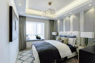 法式轻奢别墅卧室装修效果图