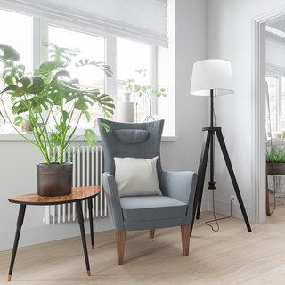 北欧简约风格公寓装修沙发椅设计图