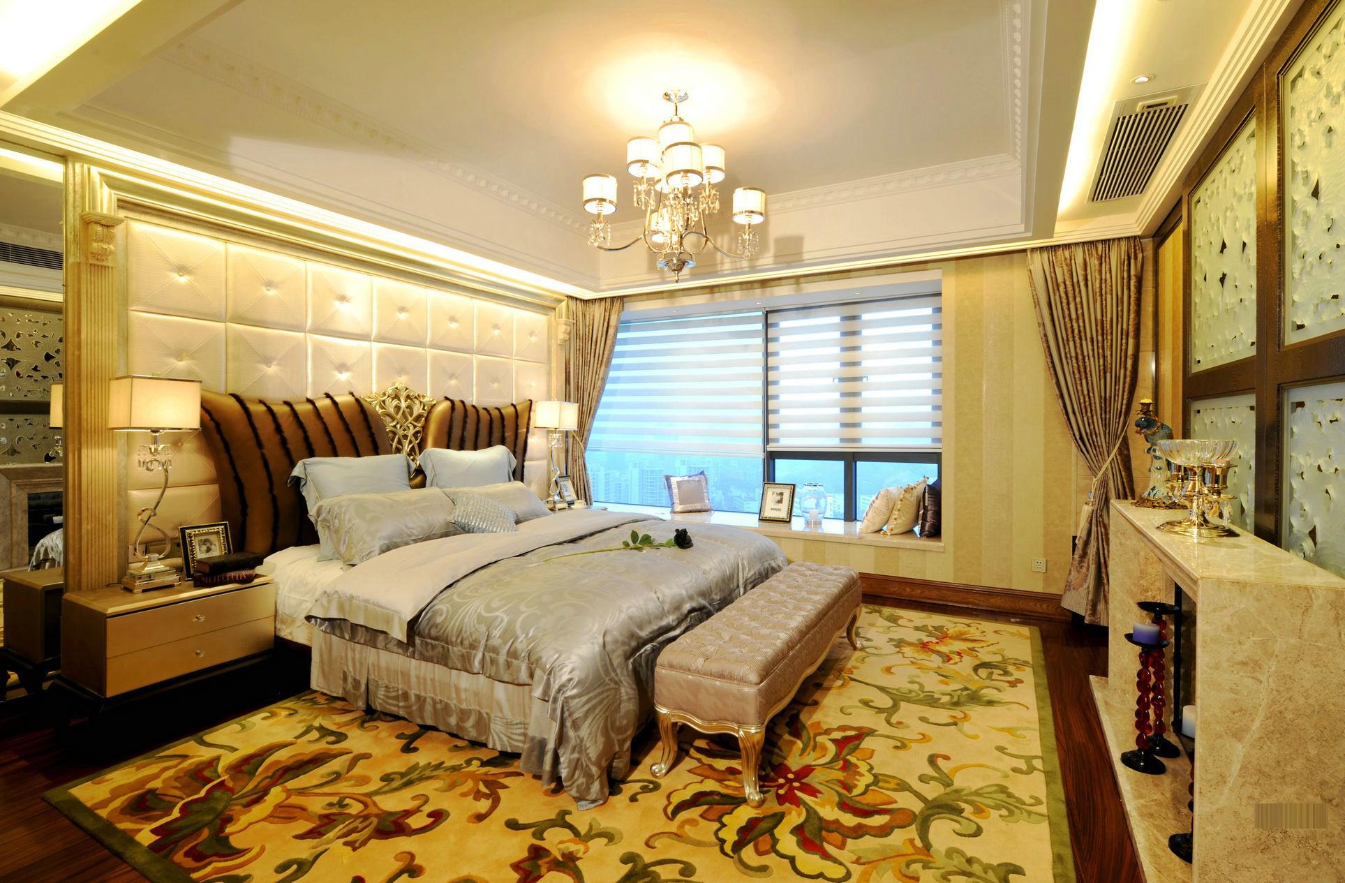 奢华新古典风格卧室装修效果图