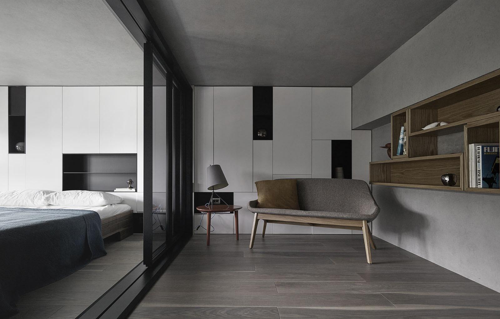 LOFT风格公寓书房装修效果图