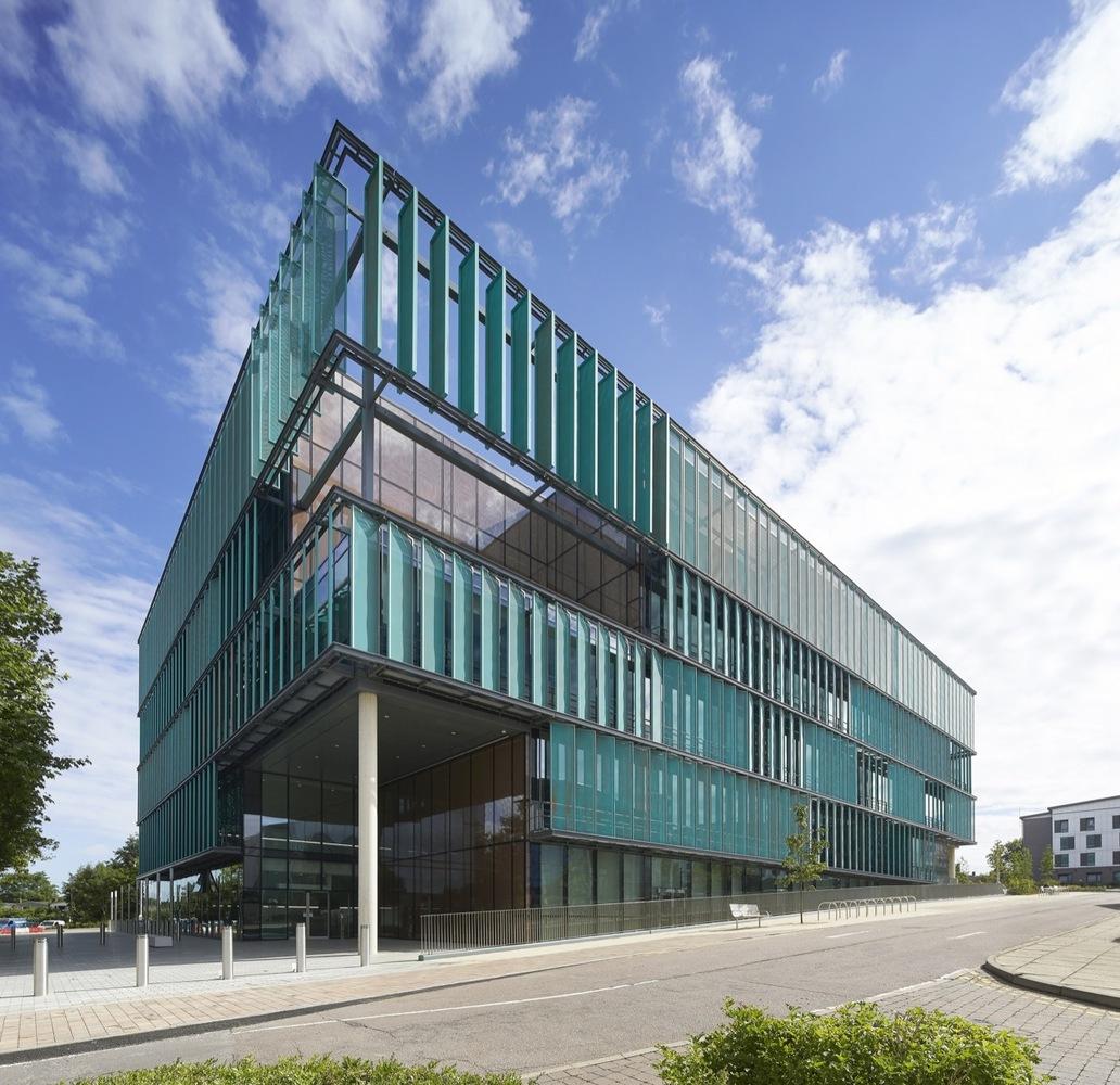 绿色科研楼设计效果图
