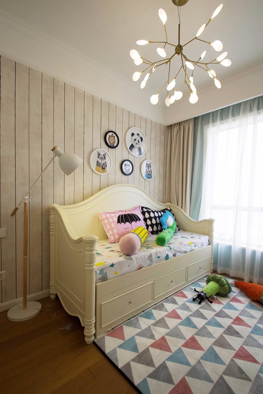 120平美式风格儿童房装修效果图