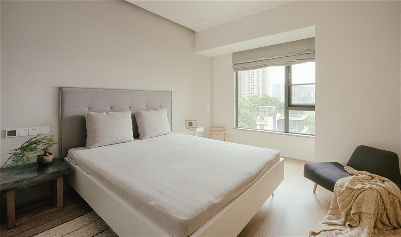 日式简约风卧室装修效果图