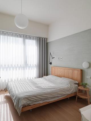日式极简风二居卧室装修效果图