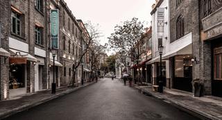 复古商业街设计效果图