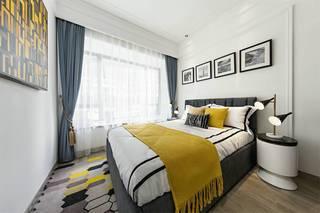 时尚简美混搭卧室装修效果图
