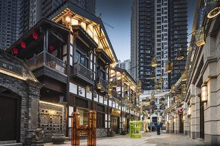 文化商业街设计效果图