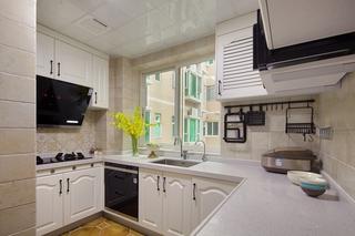美式乡村风格两居厨房装修效果图