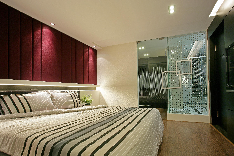 现代简约四房卧室装修效果图