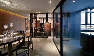 现代风格三居餐厅装修效果图