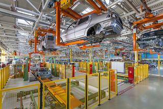 汽车生产车间设计效果图