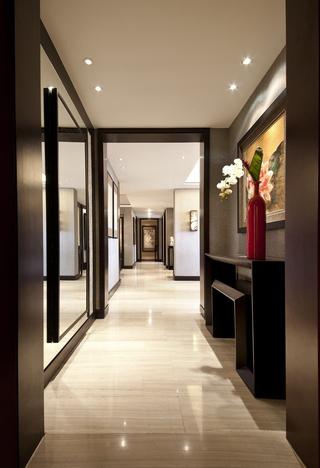 142㎡中式风格走廊装修效果图
