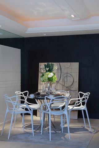 120平现代简约风餐厅装修效果图