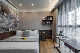 大户型现代风格卧室装修注册送300元现金老虎机图