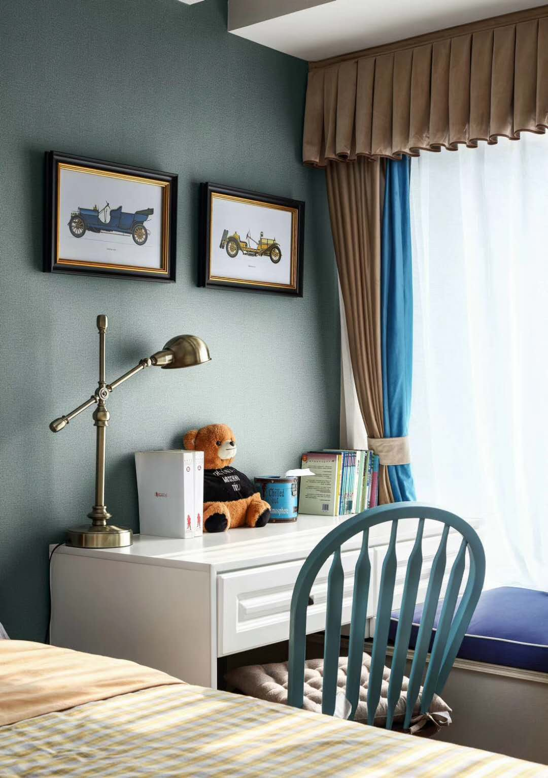 美式风格四居儿童房装修效果图