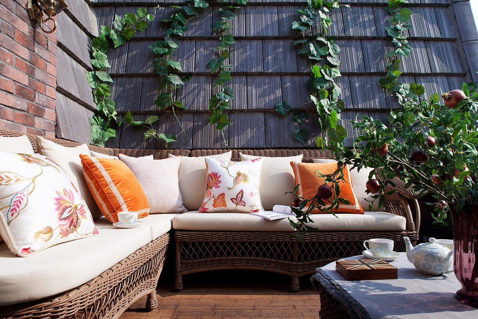 大户型美式混搭风露台花园装修效果图