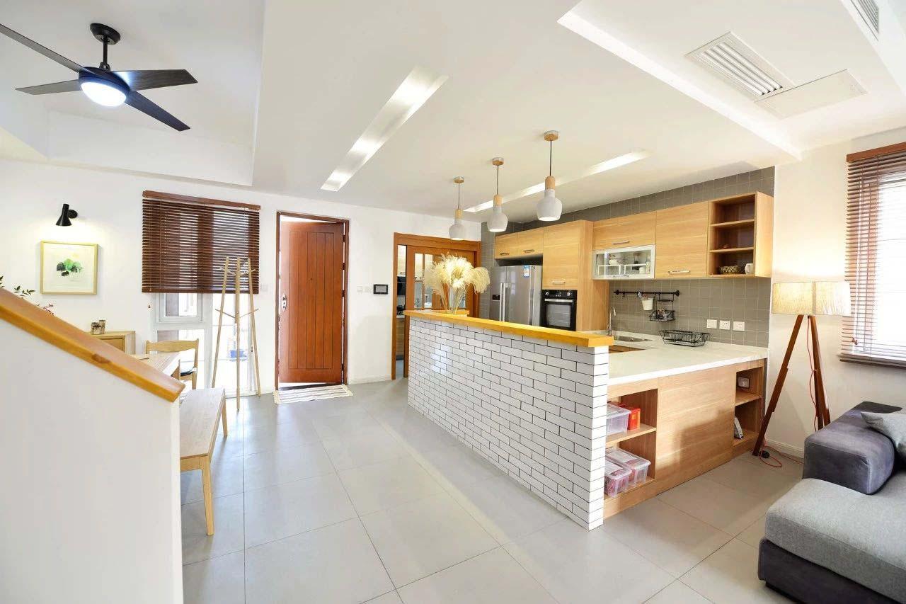 230㎡日式风格厨房装修效果图