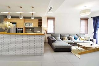 230㎡日式风格客厅装修效果图