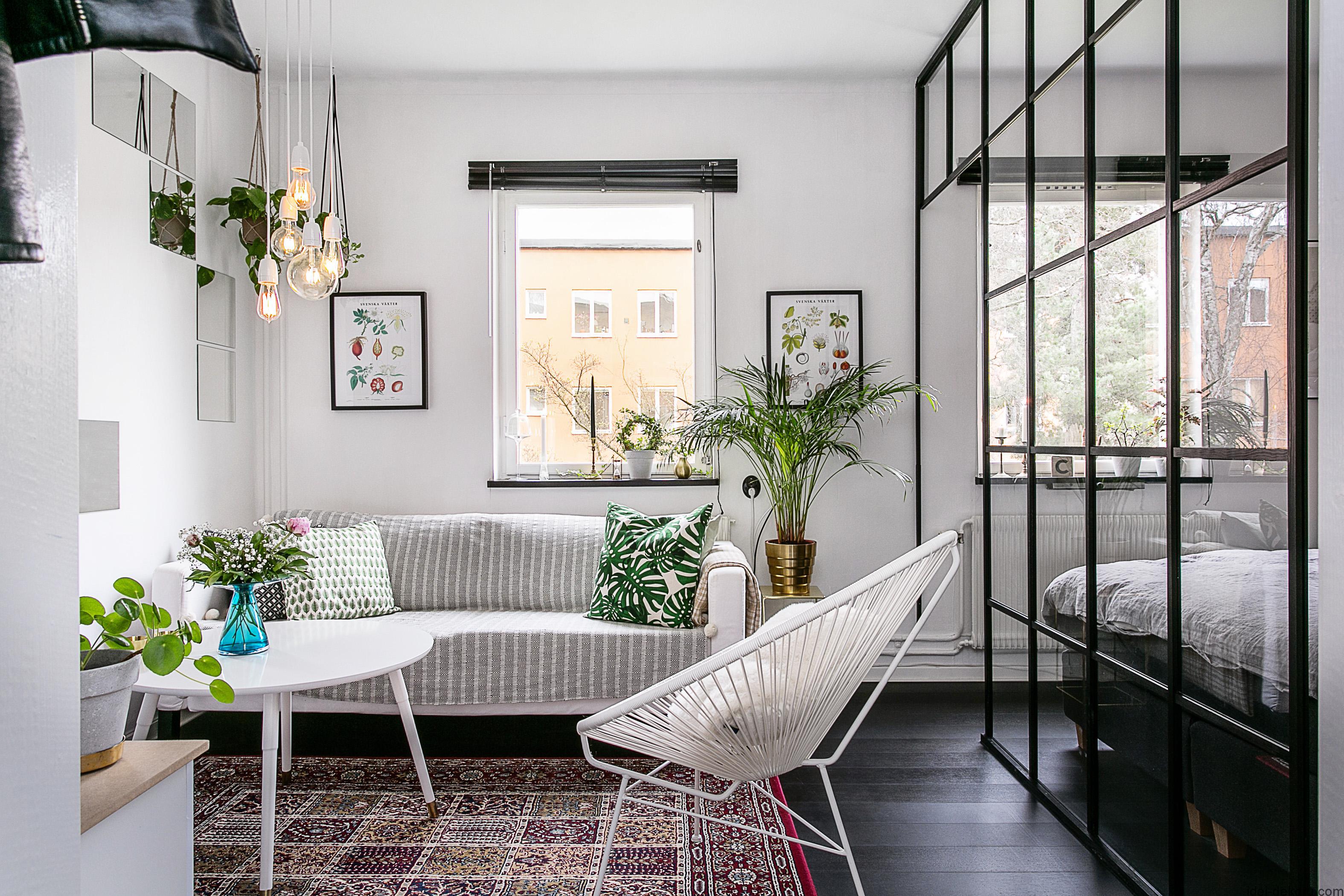 35㎡小户型公寓客厅装修效果图