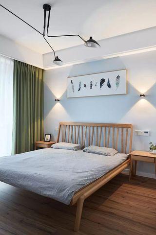 89㎡北欧风卧室装修效果图
