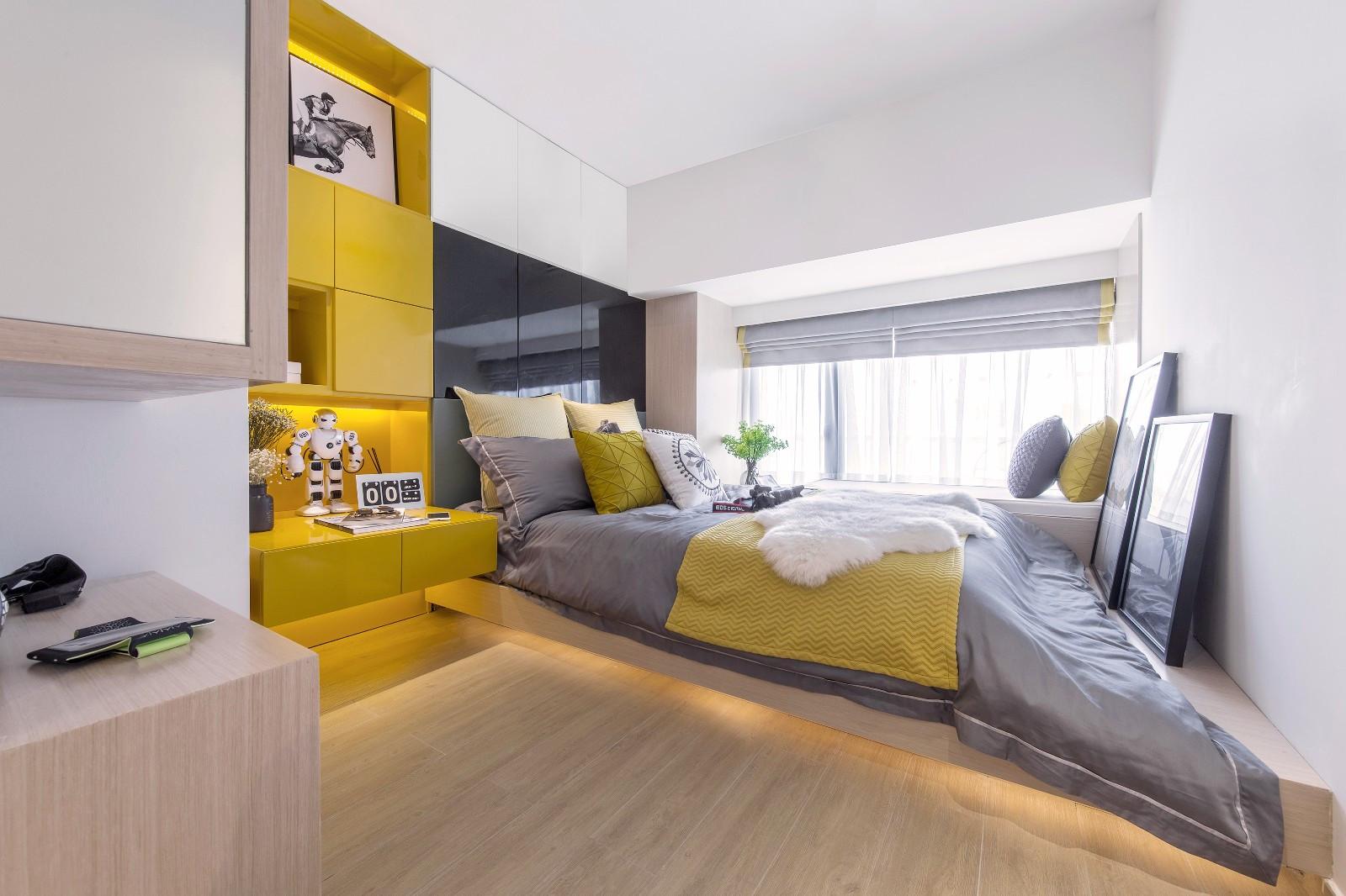 62平米小复式卧室装修效果图